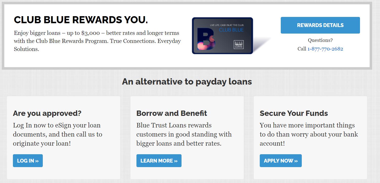 Blue Trust Loans reviews